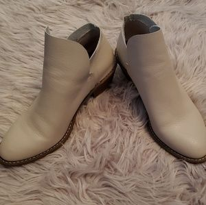Universal Thread ivory booties